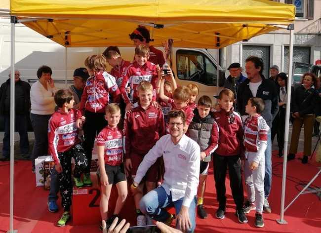 Il Pedale Ossolano Idroweld vince il Trofeoa a BorgomaneroNO