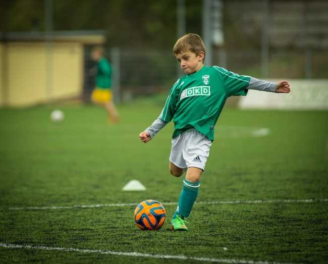 bambino calcio
