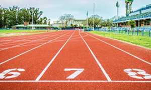 b pista atletica